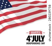 happy independence day united... | Shutterstock .eps vector #280239758
