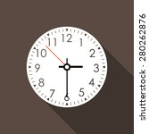 time icon. vector illustration