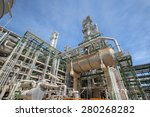 petroleum plant with blue sky | Shutterstock . vector #280268282