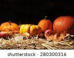 halloween   many different... | Shutterstock . vector #280300316