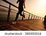 healthy lifestyle sports woman... | Shutterstock . vector #280303316