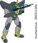 cartoon style illustration of a ... | Shutterstock . vector #280311386