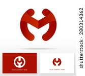 letter m logo icon design...