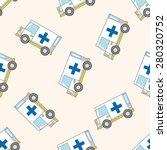 transportation ambulance  ... | Shutterstock .eps vector #280320752