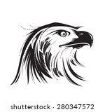 stylized image of eagle or... | Shutterstock .eps vector #280347572