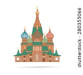 the most famous cathedral in... | Shutterstock . vector #280355066