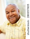 senior african american man | Shutterstock . vector #280357835