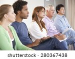 meeting of support group | Shutterstock . vector #280367438