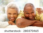 senior african american couple... | Shutterstock . vector #280370465