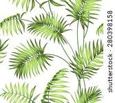 tropical seamless pattern.... | Shutterstock .eps vector #280398158