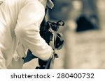 photographers are taking a... | Shutterstock . vector #280400732