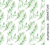 seamless vector pattern with... | Shutterstock .eps vector #280447145