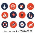 summer icons | Shutterstock .eps vector #280448222