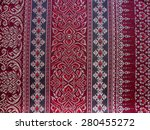 thai fabrics patterns | Shutterstock . vector #280455272