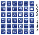sign wash symbol | Shutterstock .eps vector #280483652