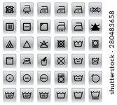 sign wash symbol | Shutterstock .eps vector #280483658