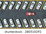 search for a parking space.... | Shutterstock . vector #280510292