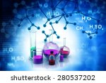 chemistry laboratory or... | Shutterstock . vector #280537202