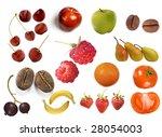 fruit set | Shutterstock . vector #28054003