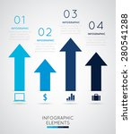 modern infographics  | Shutterstock .eps vector #280541288