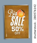 limited time big sale with... | Shutterstock .eps vector #280576142
