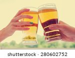 cheers my friend  | Shutterstock . vector #280602752