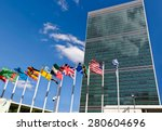 united nations headquarters in ... | Shutterstock . vector #280604696