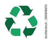 recycle symbol | Shutterstock .eps vector #280608692