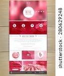 wine concept web site design....