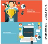 concepts for web banners and... | Shutterstock .eps vector #280651976
