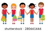 stock vector cartoon... | Shutterstock .eps vector #280661666