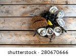 Half A Dozen Of Fresh Oysters...