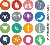 organ icon set. eps 10. | Shutterstock .eps vector #280674398