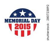 happy memorial day vector and...   Shutterstock .eps vector #280723892