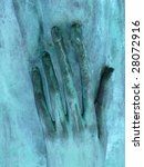Abstract Grungy Hand Relief....