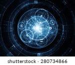 orbits of destiny series.... | Shutterstock . vector #280734866
