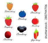 berry | Shutterstock . vector #280744706