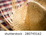 typical brazilian hat for... | Shutterstock . vector #280745162