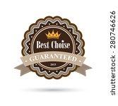 vintage badges and labels on... | Shutterstock .eps vector #280746626