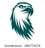 engraving stylized eagle symbol ... | Shutterstock .eps vector #280773176