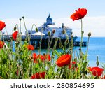 Eastbourne\'s Pier And Poppies...