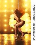pole dancing | Shutterstock . vector #280862822