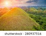 beautiful scenery of chocolate... | Shutterstock . vector #280937516