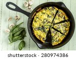 Cast Iron Skillet Filled With ...