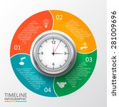 vector circle element for... | Shutterstock .eps vector #281009696
