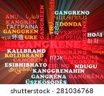 background concept wordcloud... | Shutterstock . vector #281036768