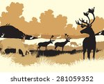 eps8 editable vector... | Shutterstock .eps vector #281059352