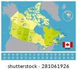 canada | Shutterstock .eps vector #281061926