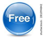 free button | Shutterstock .eps vector #281094842