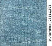 fashion design for jean texture ... | Shutterstock . vector #281111516